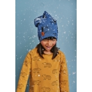 Kids cap WOODPECKER navy blue