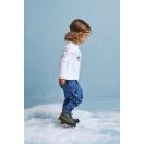 Kids pants WOODPECKER navy blue