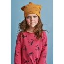 Kids dress WOODPECKER red