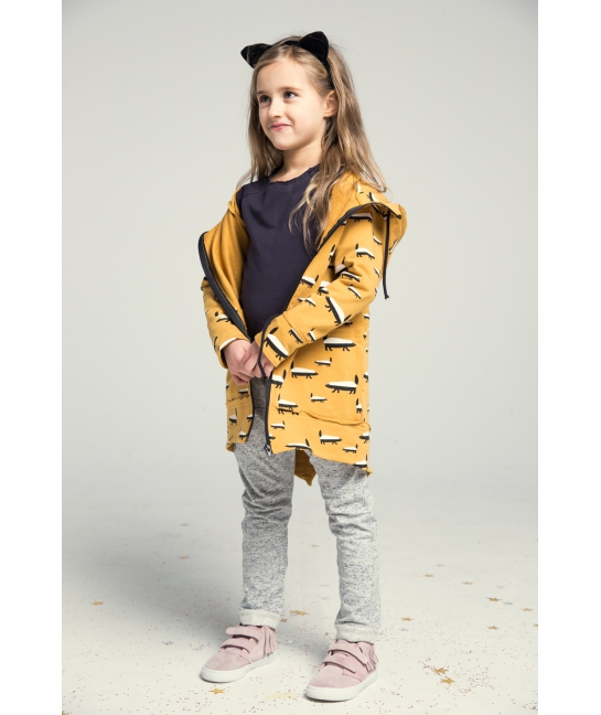 Kids Parka WOODPECKER red