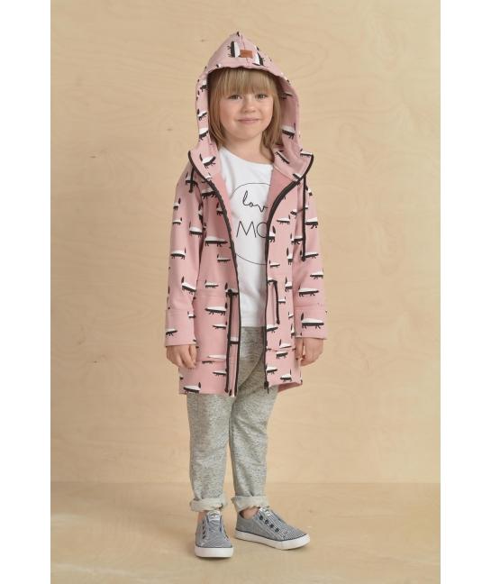 Kids Parka BADGER pink