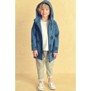 Kids Parka STARS blue
