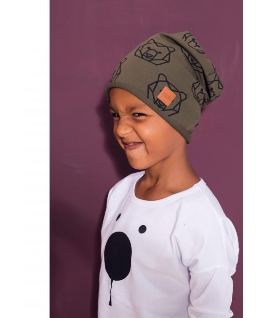 Kids cap BEAR black