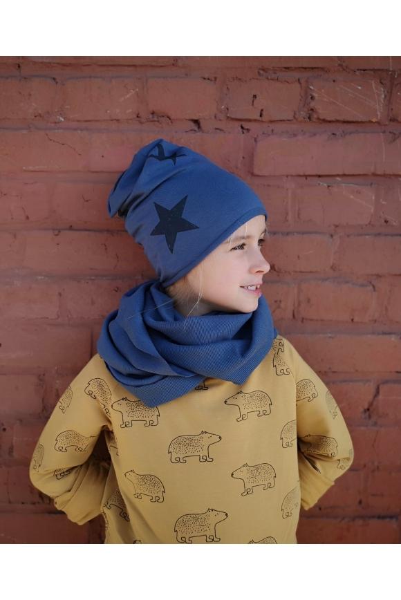 Kids chimney-scarf CHECKER