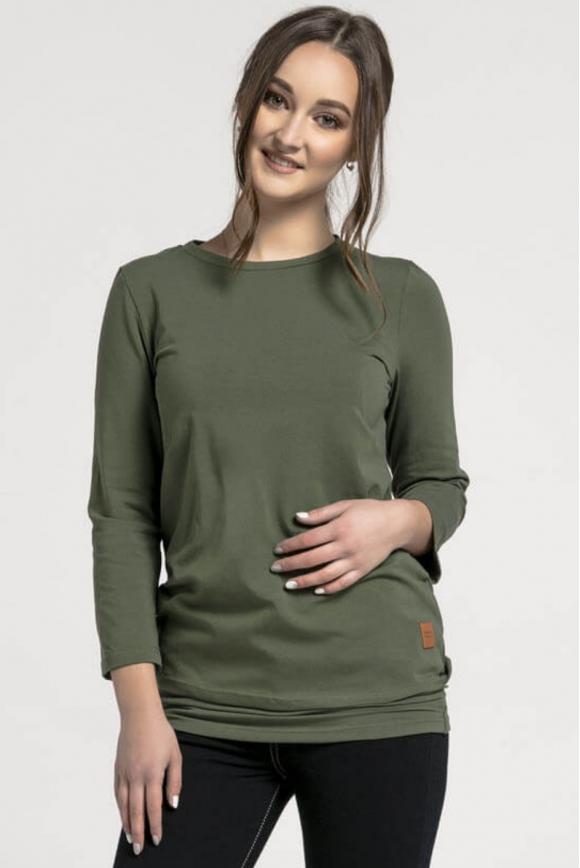Breastfeeding longsleeve KHAKI