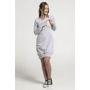 Breastfeeding hoodie-dress MELANGE