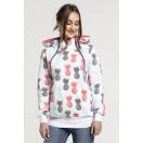 Breastfeeding hoodie PINEAPPLE