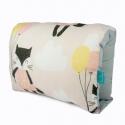 Nursing arm pillow - CATS beige - bamboo