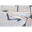 Bed linen with silver ions - PENGUINS