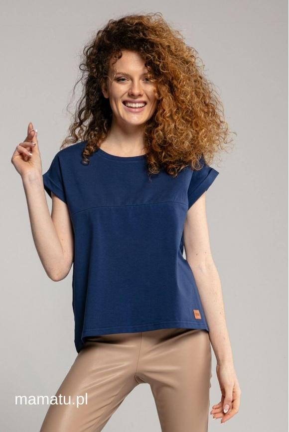 Breastfeeding t-shirt NAVY BLUE